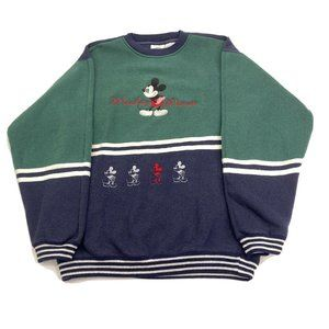 Vintage 90s Disney Designs Mickey Mouse Pullover